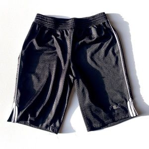 Fila Black Basketball Shorts